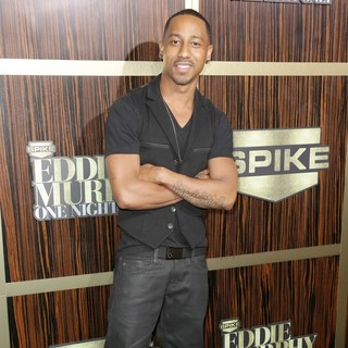 Brandon T. Jackson in Spike TV's Eddie Murphy: One Night Only - brandon-t-jackson-eddie-murphy-one-night-only-02