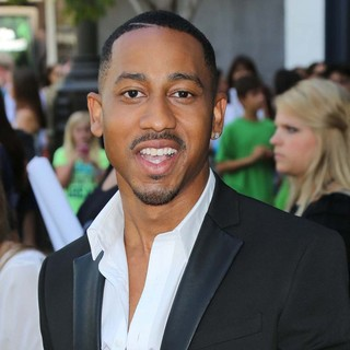 Brandon T. Jackson in Percy Jackson: Sea of Monsters Premiere