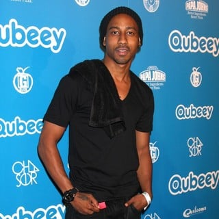 Brandon T. Jackson in Qubeeys Chris Brown Channel Launch - Arrivals