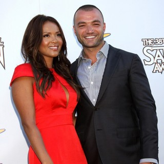 Lesley-Ann Brandt, Nick Tarabay in The 2012 Saturn Awards