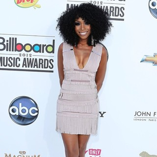 Brandy in 2012 Billboard Music Awards - Arrivals
