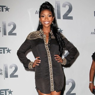 Brandy in The BET Awards 2012 - Press Room