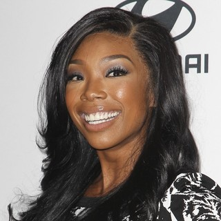 Brandy in Clive Davis and The Recording Academy's 2013 Pre-Grammy Gala and Salute to Industry Icons