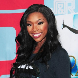 Brandy in Brandy Promotes Her Album Two Eleven