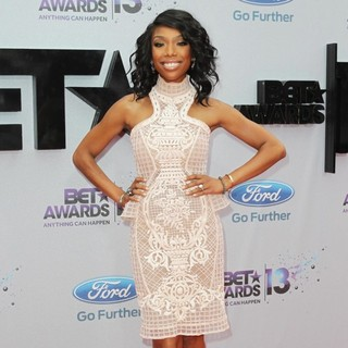 Brandy in The 2013 BET Awards - Arrivals