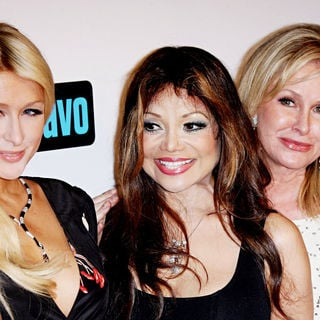 Paris Hilton, La Toya Jackson, Kathy Hilton in Bravo's 'The Real Housewives of Beverly Hills' Series Premiere Party