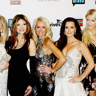 Kathy Hilton, La Toya Jackson, Kim Richards, Kyle Richards, Paris Hilton in Bravo's 'The Real Housewives of Beverly Hills' Series Premiere Party