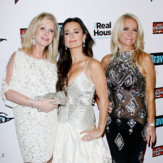Kathy Hilton, Kyle Richards, Kim Richards in Bravo's 'The Real Housewives of Beverly Hills' Series Premiere Party