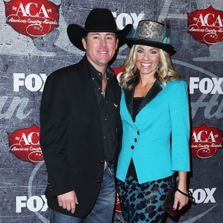 Trevor Brazile, Shada Brazile in 2012 American Country Awards - Arrivals