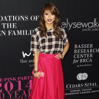 Brenda Song in Elyse Walker's 10 Year Anniversary Pink Party - Arrivals