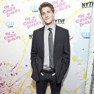 Brendan Dooling in The Carrie Diaries Premiere