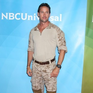 Brent Gleeson in NBC Universal Press Tour