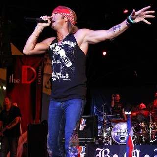 Bret Michaels in Bret Michaels Performs to Celebrate The Grand Opening of The D Las Vegas