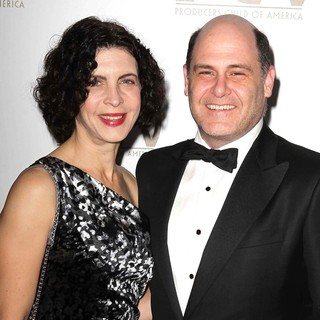 Linda Brettler, Matthew Weiner in 24th Annual Producers Guild Awards - Arrivals