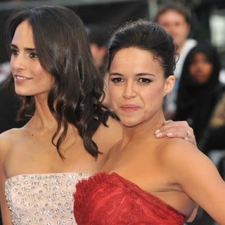 Jordana Brewster, Michelle Rodriguez in World Premiere of Fast and Furious 6 - Arrivals