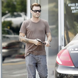 Brian Austin Green in Brian Austin Green is Seen Leaving His Karate Class
