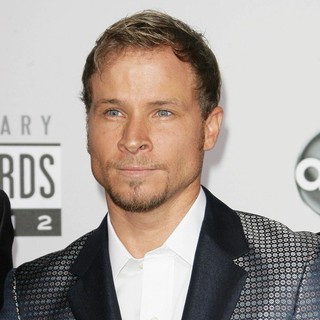 Brian Littrell, Backstreet Boys in The 40th Anniversary American Music Awards - Arrivals