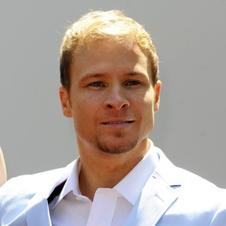 Brian Littrell, Backstreet Boys in Backstreet Boys Are Honoured with A Hollywood Star on The Hollywood Walk of Fame
