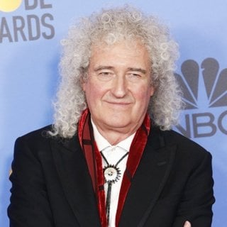 Brian May, Queen in 76th Golden Globe Awards - Press Room