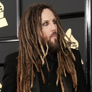 Brian Welch, Korn in 59th Annual GRAMMY Awards - Arrivals