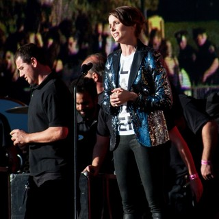 Bridget Moynahan in 2013 Global Citizen Festival