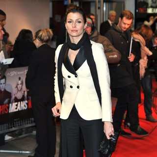 Bridget Moynahan in UK Premiere of This Means War - Arrivals
