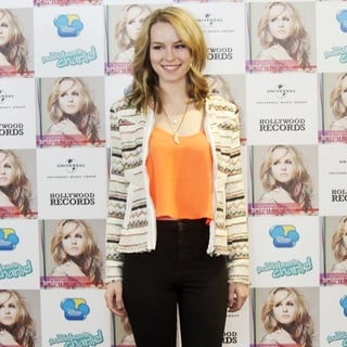 Bridgit Mendler in Hello My Name Is... Photocall
