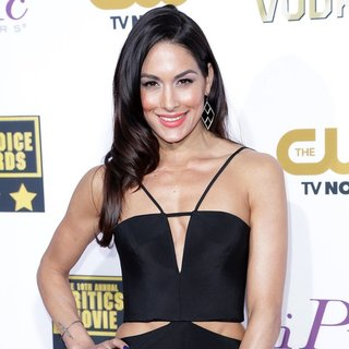 Brie Bella in The 19th Annual Critics' Choice Awards