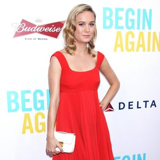 Brie Larson in The New York Premiere of Begin Again - Arrivals