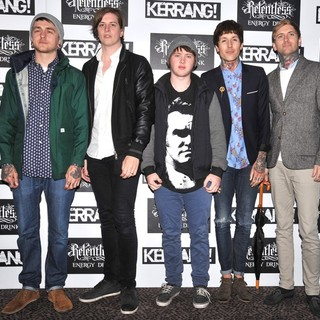 Bring Me The Horizon in Kerrang! Awards 2012 - Arrivals