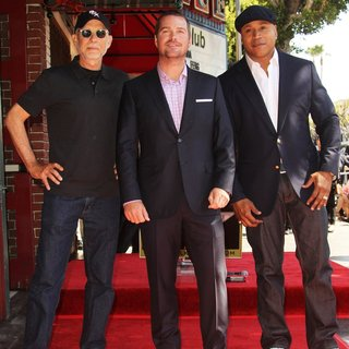 LL Cool J - Chris O'Donnell Honored with A Star on The Hollywood Walk of Fame