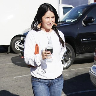 Bristol Palin in Kyle Massey and Bristol Palin Enjoy Lunch with A Friend