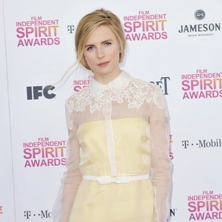 Brit Marling in 2013 Film Independent Spirit Awards - Arrivals