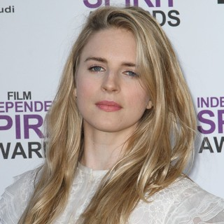 Brit Marling in 27th Annual Independent Spirit Awards - Arrivals