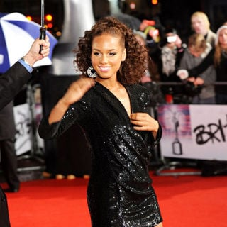 Alicia Keys in The BRIT Awards 2010 - 30th Anniversary - Arrivals