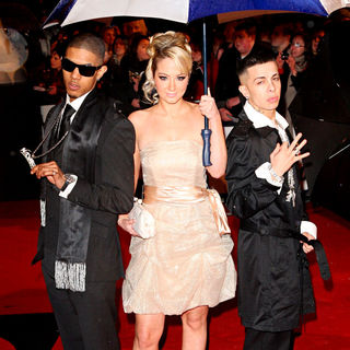 N-Dubz in The BRIT Awards 2010 - 30th Anniversary - Arrivals
