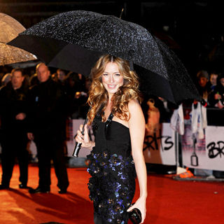 Cat Deeley in The BRIT Awards 2010 - 30th Anniversary - Arrivals