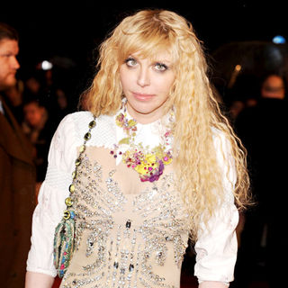 Courtney Love in The BRIT Awards 2010 - 30th Anniversary - Arrivals