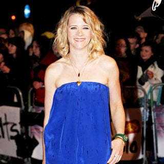 Edith Bowman in The BRIT Awards 2010 - 30th Anniversary - Arrivals