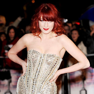 Florence Welch, Florence and the Machine in The BRIT Awards 2010 - 30th Anniversary - Arrivals