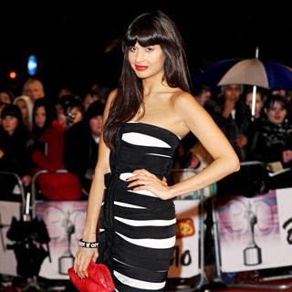 Jameela Jamil in The BRIT Awards 2010 - 30th Anniversary - Arrivals