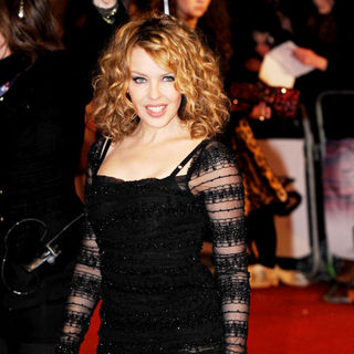 Kylie Minogue in The BRIT Awards 2010 - 30th Anniversary - Arrivals