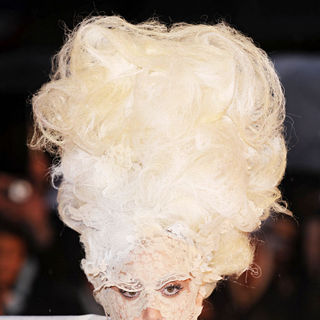 Lady GaGa in The BRIT Awards 2010 - 30th Anniversary - Arrivals