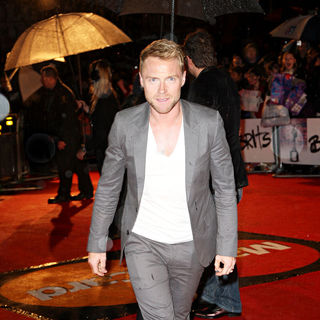 Ronan Keating, Boyzone in The BRIT Awards 2010 - 30th Anniversary - Arrivals