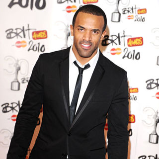 Craig David in The BRIT Awards 2010 - 30th Anniversary - Press Room