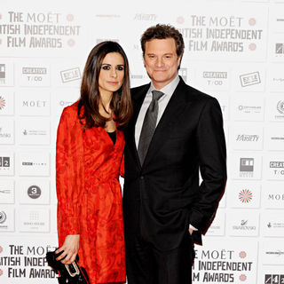 Livia Giuggioli, Colin Firth in The British Independent Film Awards 2010 - Arrivals
