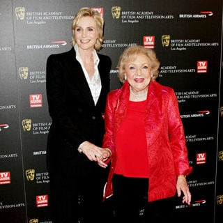 Jane Lynch, Betty White in BAFTA Los Angeles 2010 Britannia Awards