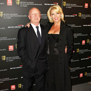 Tony Scott, Donna W. Scott in BAFTA Los Angeles 2010 Britannia Awards