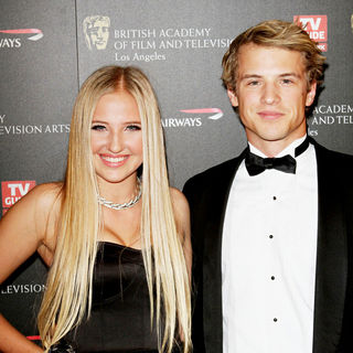 Veronica Dunne, Freddie Stroma in BAFTA Los Angeles 2010 Britannia Awards
