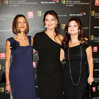 Wendie Malick, Jane Leeves, Valerie Bertinelli in BAFTA Los Angeles 2010 Britannia Awards